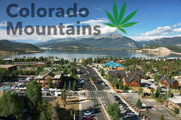 CO mountains dispensary
